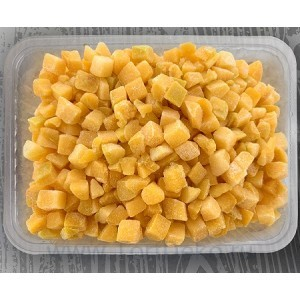 Абрикос свежезамороженный, кубик, (1 кг)
