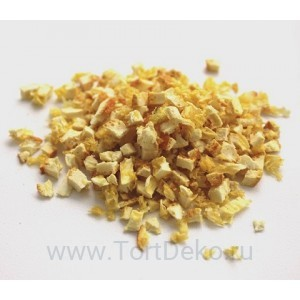 Апельсин с цедрой сублимационной сушки Баба Ягодка (кусочки 1-5 мм) 50 г
