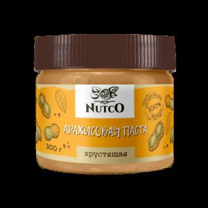 Арахисовая паста натуральная NUTCO, 300 г