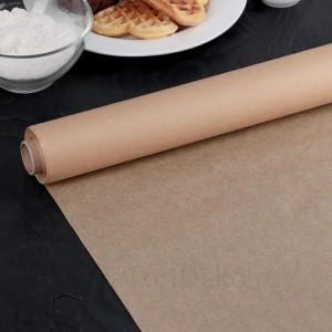 Бумага для выпечки, профессиональная 38 см х 25 м Nordic EB Golden, силиконизированная
