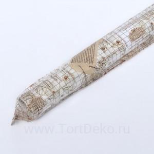 """Бумага силиконизированная """"Осень"""", 0,38 х 5 м"""
