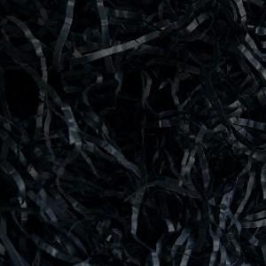 """Бумажный наполнитель """"Чёрный"""" 2 мм , (50 г)"""