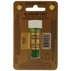 Цветочная пыльца Sugarflair Apple Green D123 (Зеленое яблоко) 7 мл
