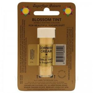 Цветочная пыльца Sugarflair Cornish Cream D105 (Светло-желтая) 7 мл