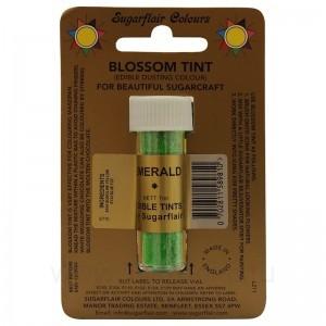 Цветочная пыльца Sugarflair Emerald D124 (Изумруд) 7 мл