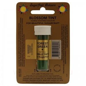 Цветочная пыльца Sugarflair Forrest Green D125 (Зеленый лес) 7 мл
