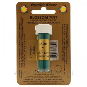 Цветочная пыльца Sugarflair Jade D126 (Нефрит) 7 мл