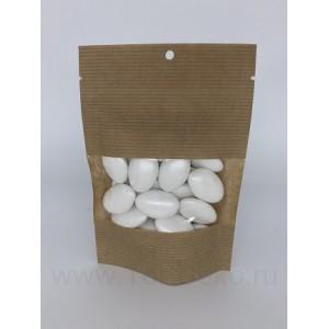 """Драже сахарное """"Перламутровые капли белые с шоколадом"""", 100г"""