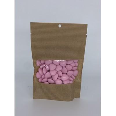 """Драже сахарное """"Розовые сердца мини с шоколадом"""", 100 г"""