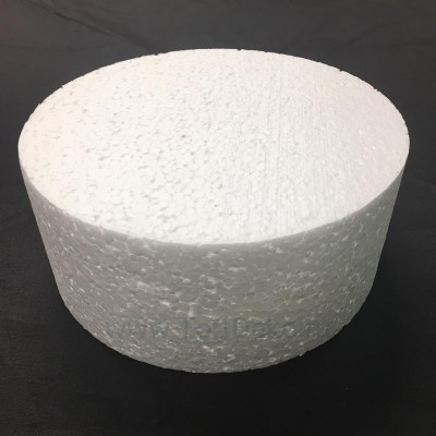 "Фальш-ярус для торта ""Цилиндр"" (D=120 мм, H=100 мм), пенопласт"