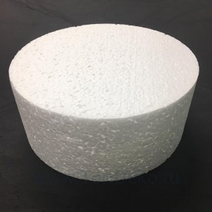 "Фальш-ярус для торта ""Цилиндр"" (D=220 мм, H=100 мм), пенопласт"