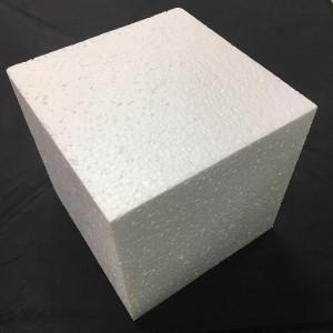 """Фальш-ярус для торта """"Прямоугольник"""" (200*200 мм, H=200 мм), пенопласт"""