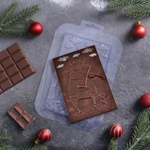 "Форма для шоколада ""Бык музыка"""