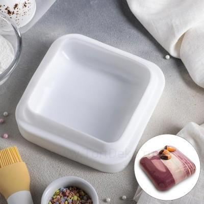 """Форма для выпечки 16,5х5,5см """"Квадро"""", цвет белый"""