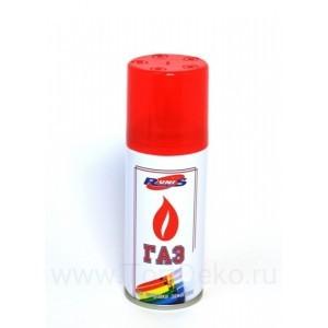 """Газ для зажигалок алюм. баллон """"RUNIS"""", 140мл"""
