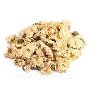 Хризантема, цветы сушеные, 10 г (сухоцвет)