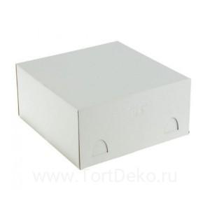 К10 Короб картонный 280*280*140мм, белый, Хром-Эрзац