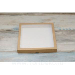 К105 Коробка для пряников 250*250*30 мм, крафт