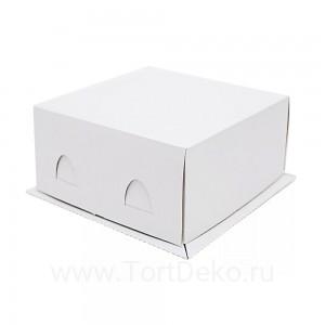 К11 Короб картонный белый 210*210*100мм Хром-Эрзац