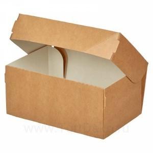 К117 Коробка для десертов 150x100x85 мм, крафт