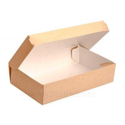 К118 Коробка для десертов 230x140x60 мм, крафт