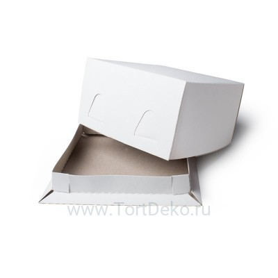 К12 Короб картонный белый 170*170*100мм Хром-Эрзац