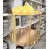 К124 Коробка для торта прозрачная (цилиндр), d=300 мм, h=300 мм