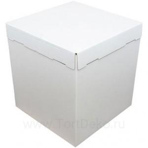 К2 Короб картонный белый 420*420*450мм