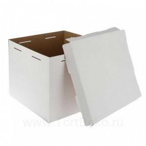 К3 Короб картонный белый 300*300*450мм