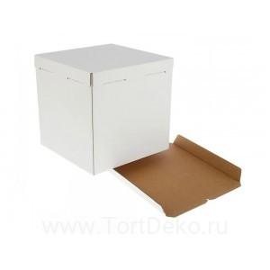 К4 Короб картонный белый 400*400*350мм