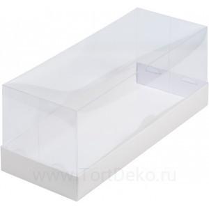 К47 Коробка под рулет с пластиковой крышкой 300*120*120, белая