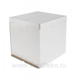 К5 Короб картонный белый 300*300*300мм