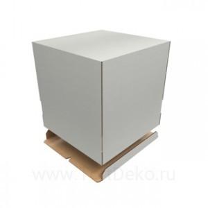 К7 Короб картонный белый 240*240*260мм