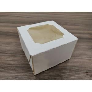 К76 Коробка с окном, 120*120*80 мм