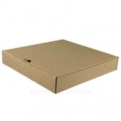 К85 Коробка для пирога, крафт, 250*250*40мм