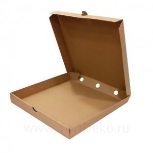 К86 Коробка для пирога, крафт, 300*300*40мм