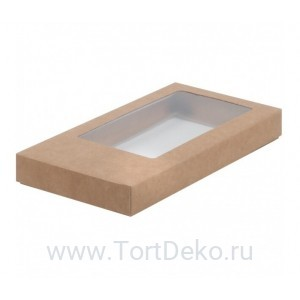 К89 Коробка для шоколадной плитки 160*80*17 мм, крафт