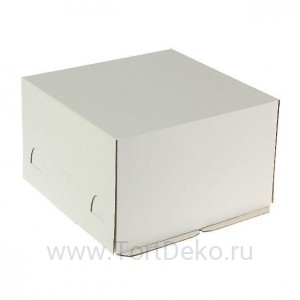 К9 Короб картонный белый 300*300*190мм Хром-Эрзац