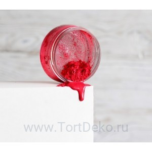 """Кандурин """"Art of Paints"""" Диско-красный, 10г"""