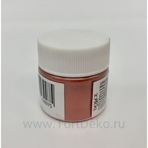 "Кандурин ""Dolce"" Красно-янтарный (Red Amber), 5 г"