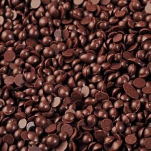 """Капли шоколадные термостабильные темные """"IRCA"""" Pepita, каллеты, (250 г)"""