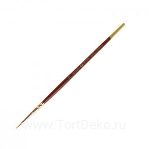 Кисть Синтетика Круглая ЗХК Decola №0 d-1,3мм