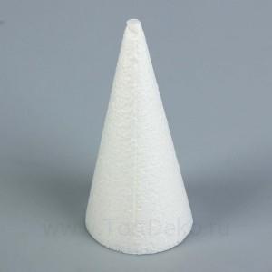 Конус из пенопласта, 15 х 7 см