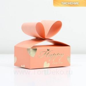 Коробка под сладкое «Нежность», 10 х 6 х 4 см