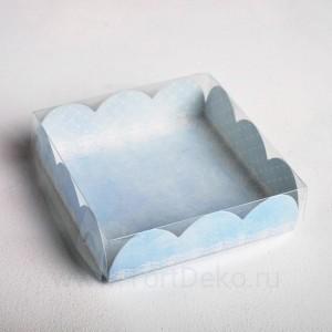 Коробочка для печенья, «Сделано с любовью»,10,5 × 10,5 × 3 см