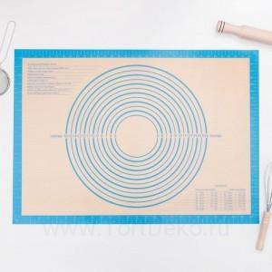 Коврик армированный с разлиновкой 71х50,5 см