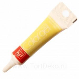 Краситель гелевый Colorgel (Бледно-жёлтый) 20 г