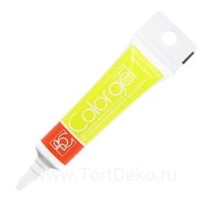 Краситель гелевый Colorgel (Желтый лимон) 20 г