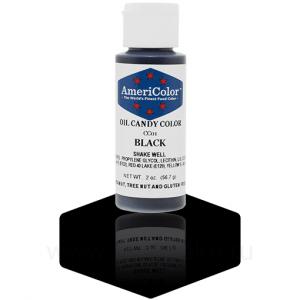"""Краситель гелевый жирорастворимый """"AmeriColor"""" Black CC01 (Америколор Черный) 56 г"""