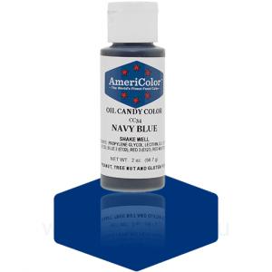 """Краситель гелевый жирорастворимый """"AmeriСolor"""" Navy Blue СС34 (Америколор Темно-синий) 56 г"""
